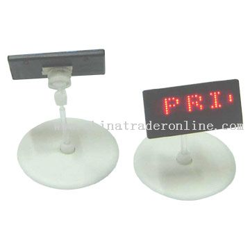 LED Price Tags with Stand