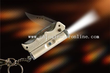 knife with lights