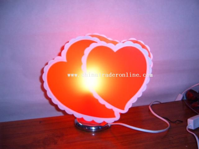 Desk lamp of the love from China