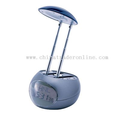 LED READING LAMP WITH CLOCK