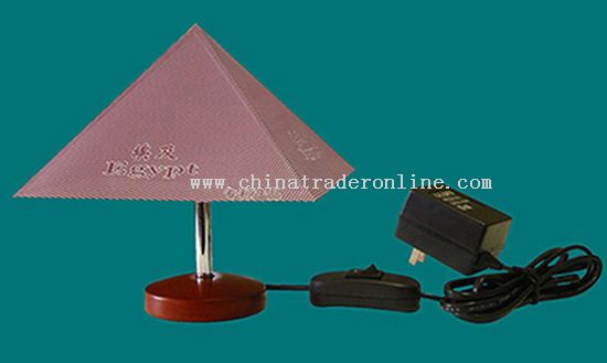 Mini T-Lamp with a Pyramid Shape Shade from China
