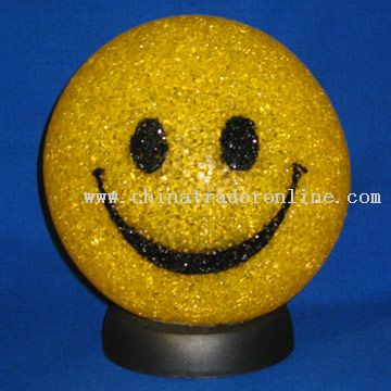 Smiling Face Novelty Lamp