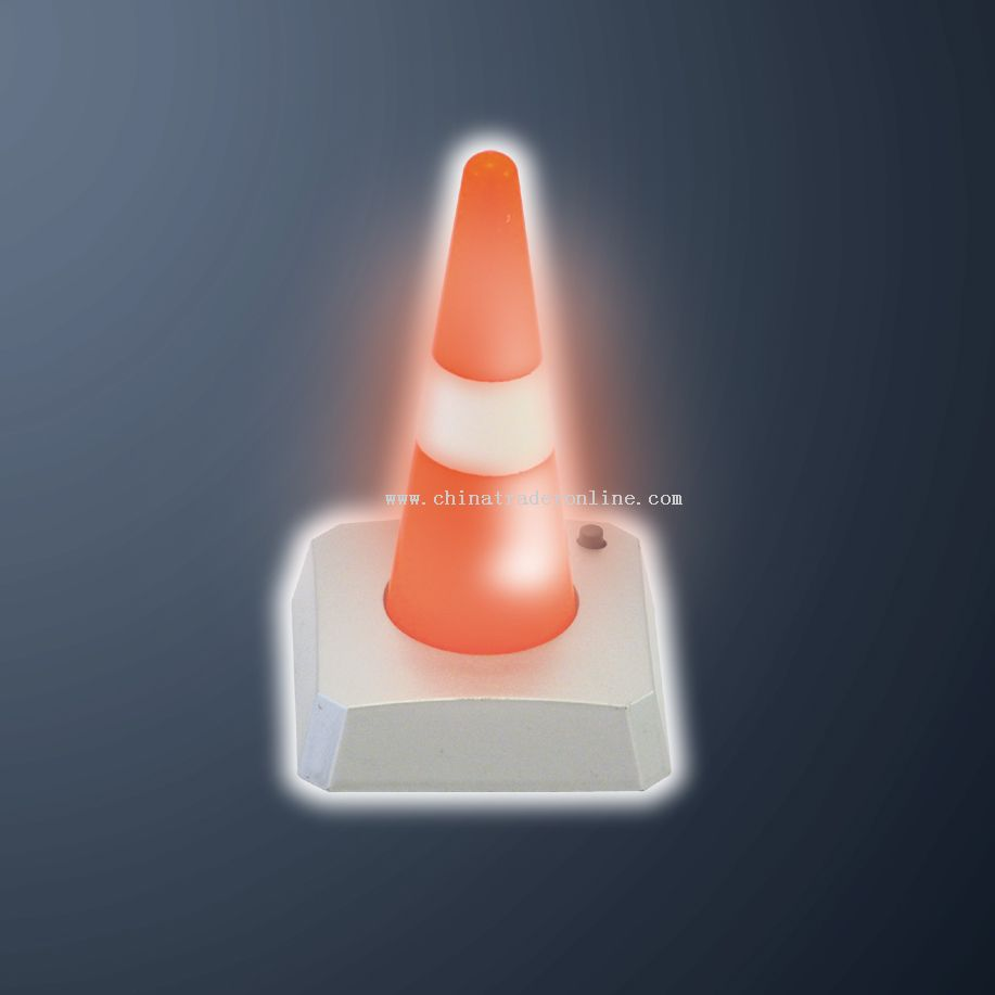 Flashing Safety Cone