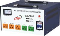 Dual Voltage (110V&220V) compatible Automatic voltage regulation