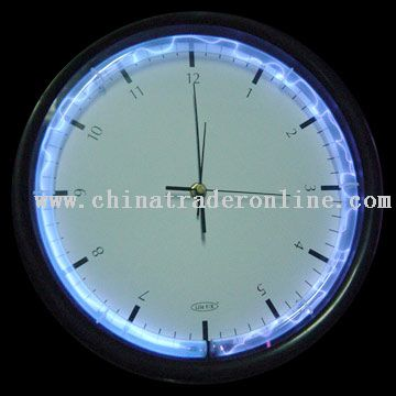 The plasma tube and clock from China