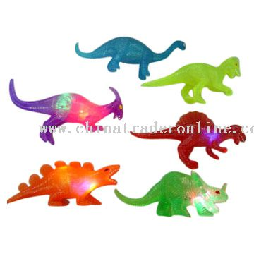 Flashing Dinosaurs