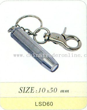 PORTABLE ALUMINIUM HANDTOUCH WITH KEYCHAIN