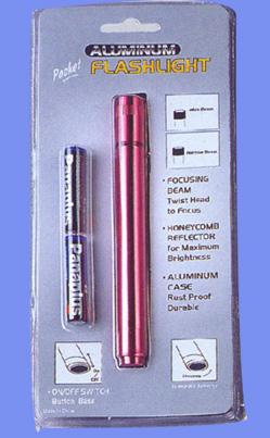 TWO AAA BATTERIES Aluminium Flashlights