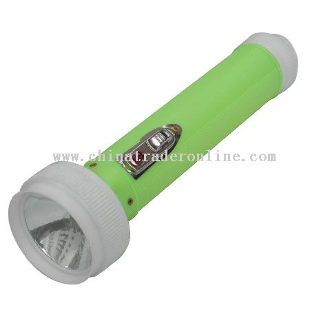 plastic flashlights