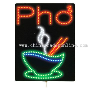 LED Custom Sign