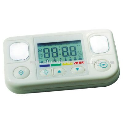 Body Fat Watcher With Clock