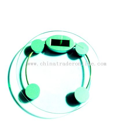 Round shape Electrical Scale from China