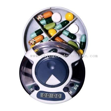 5 Group alarm clock pill box timer