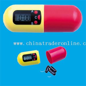 Pill timer from China