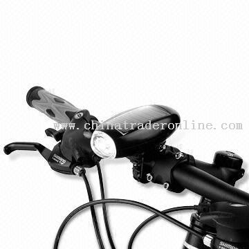 Solar Torch for Bicycle with CE Approval