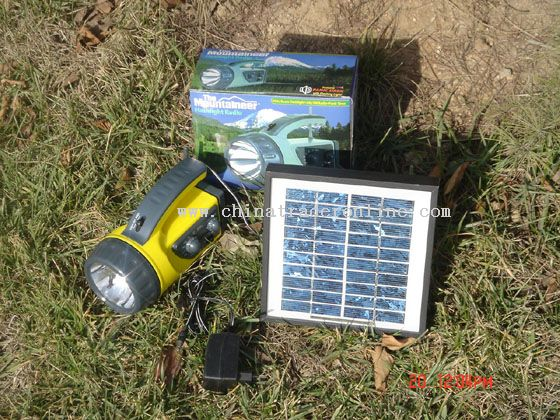 three functions Solar Flashlight