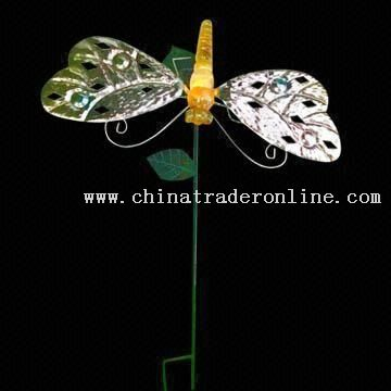 Butterfly Garden Solar Light