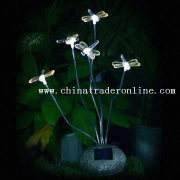 Solar Lights Contains Stones from China