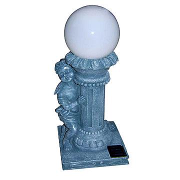 Rome Pillar Solar Light