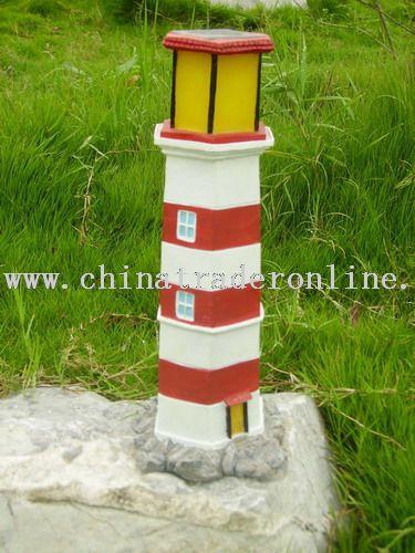 solar tower lights