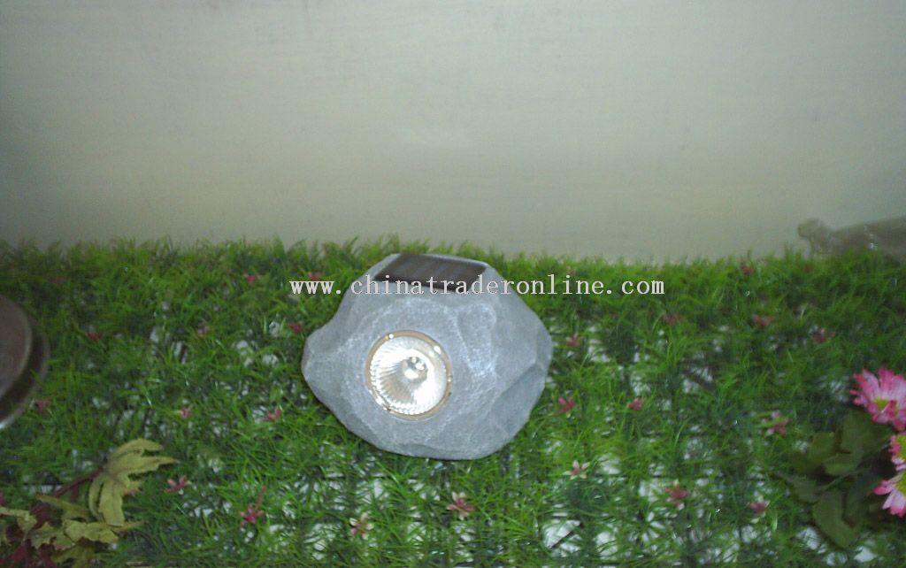 Solar stone lamp from China