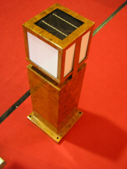 china solar lawn light
