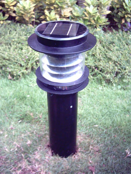 solar lawn light from China