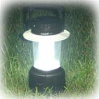 2.5W multi-crystalline solar panel camping lamp