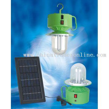 7W energy saving light tube Solar camping lantern