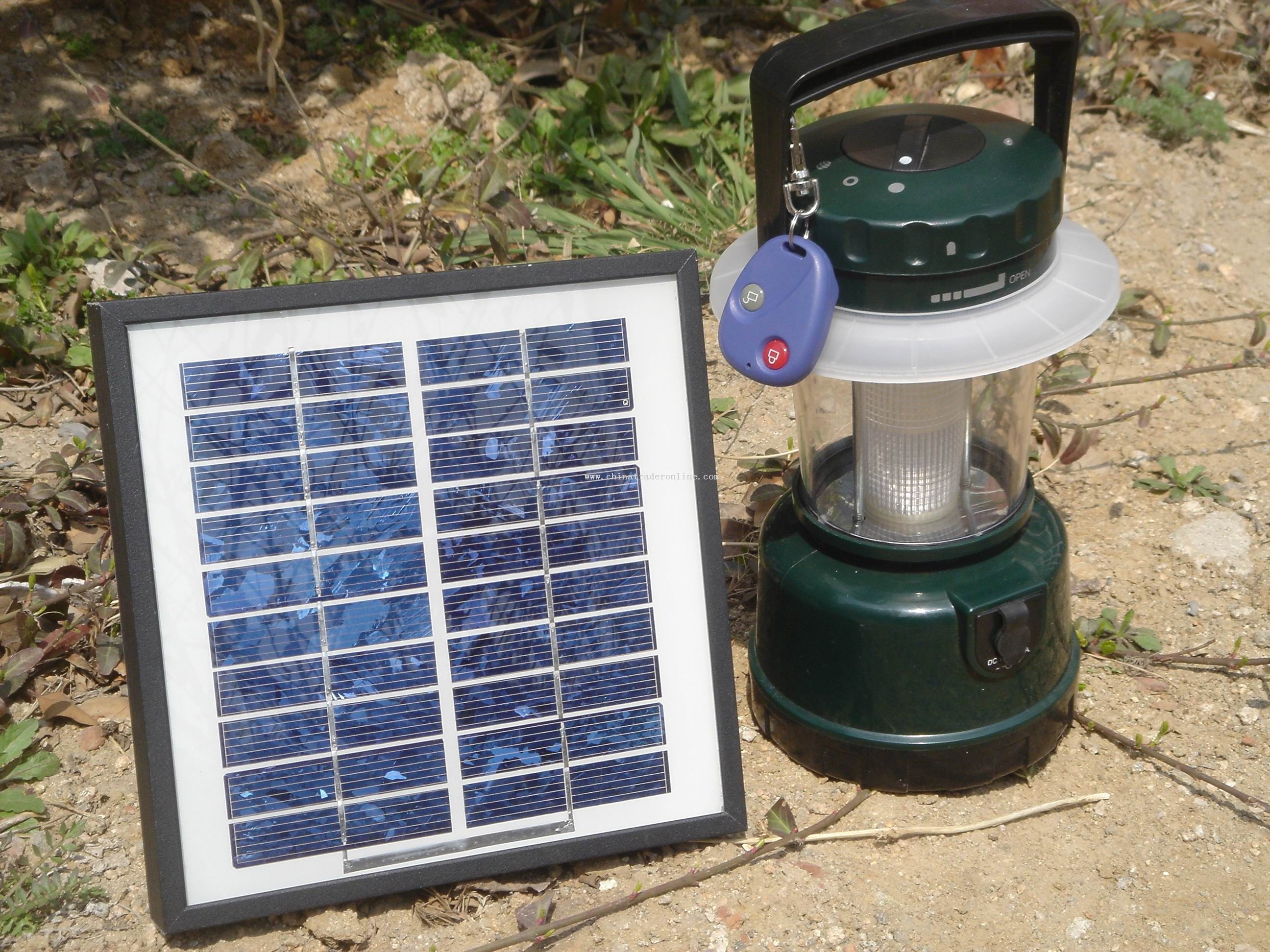 Solar Camping Light from China