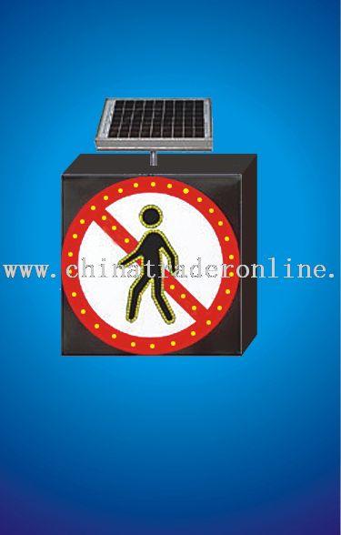 traffic signal solar lights
