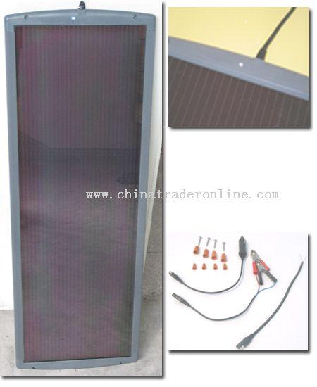 12W 12V Solar Battery Charger Kit