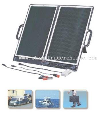 Briefcase Solar Generator