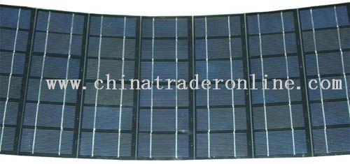 Flectional solar panel
