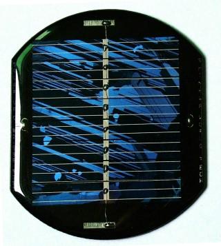Poly-crystalline-silicon solar panel
