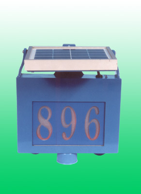 Solar Doorplate