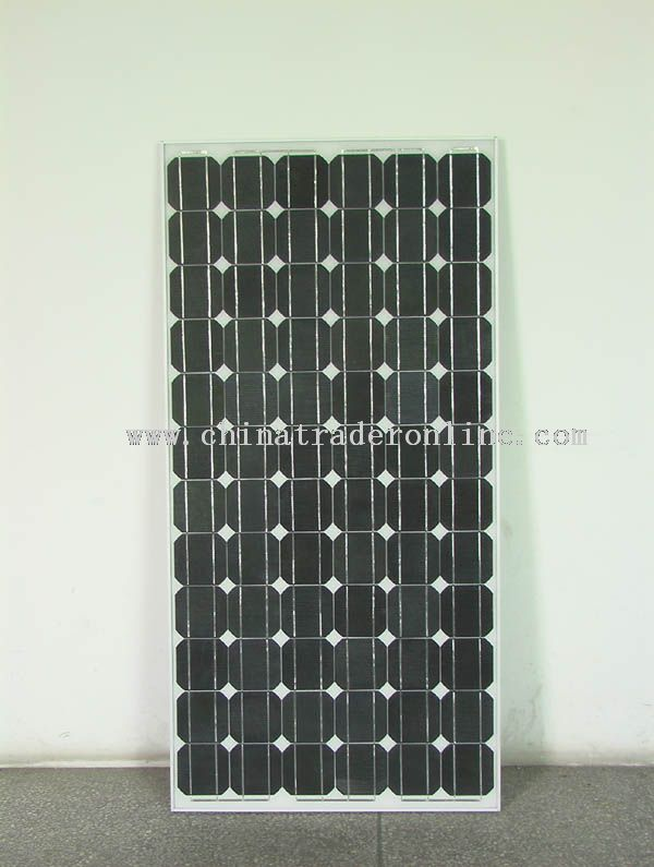 Solar panels specifications