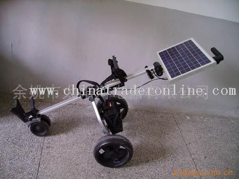 solar caddie cart from China