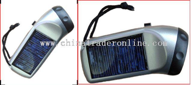 solar light torch