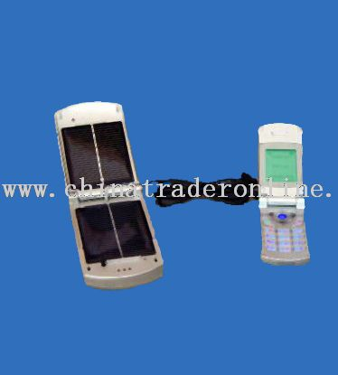 mobile shape solar mobile phone charger