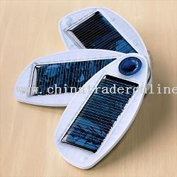 solar ipod + phone charger