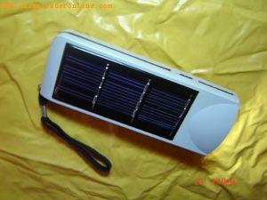 solar flashing light