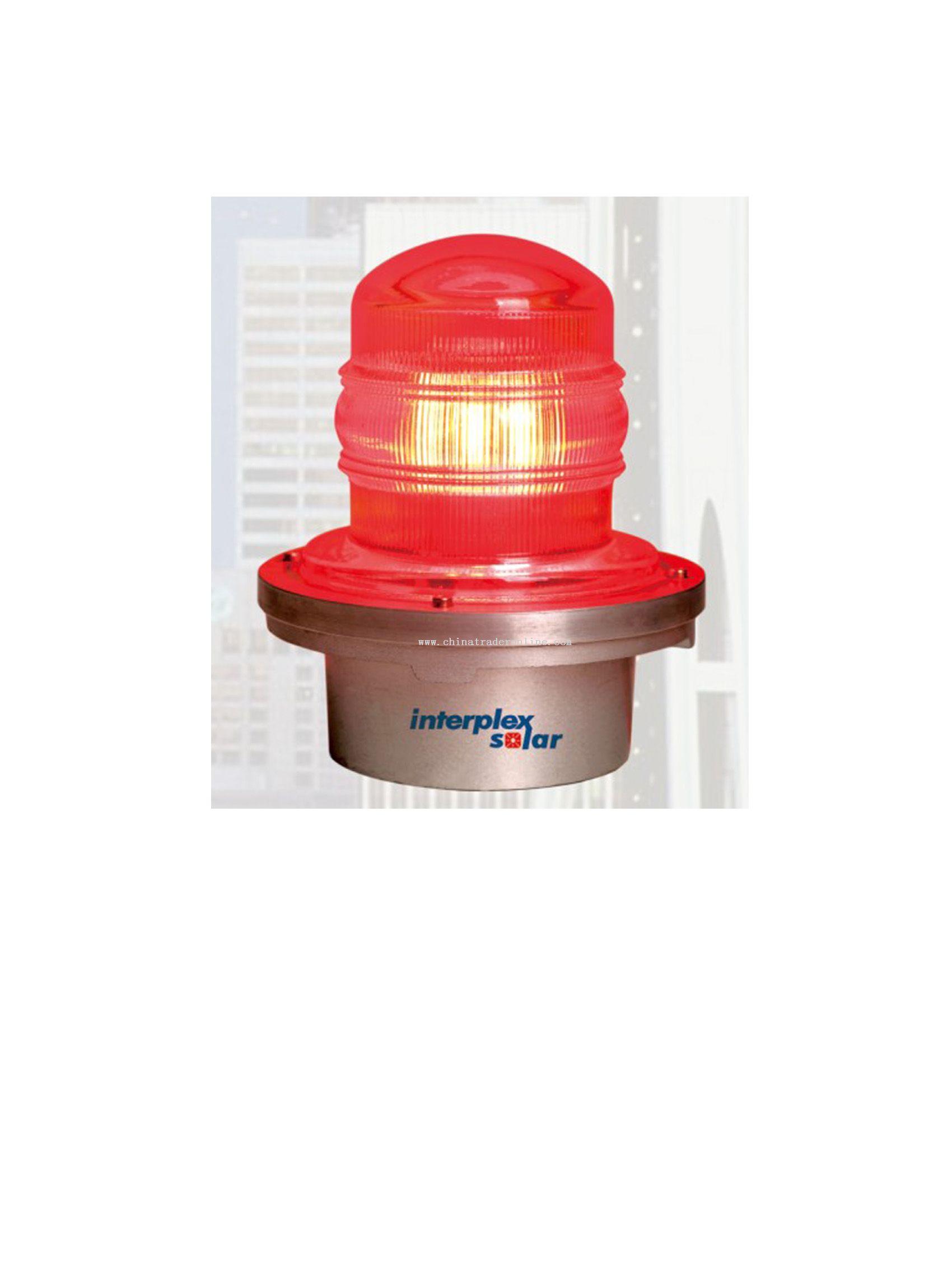 solar loft warning light