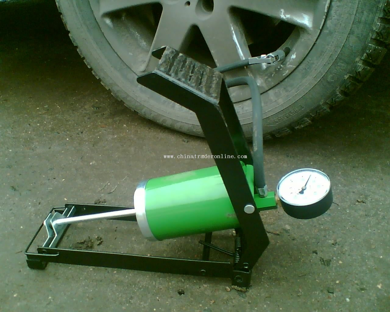 Foot pump from China