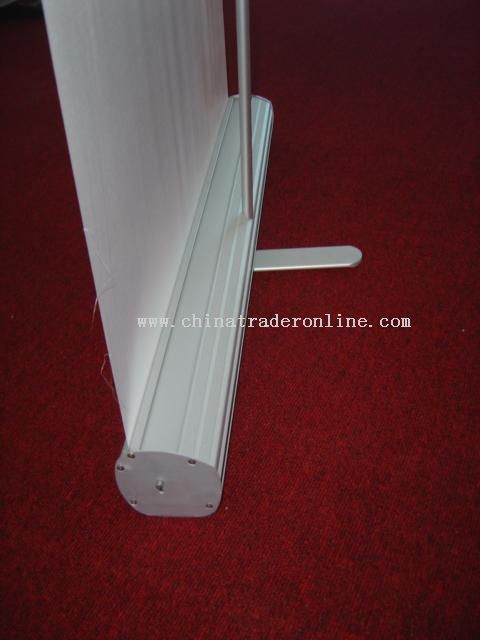double sided roll up stands