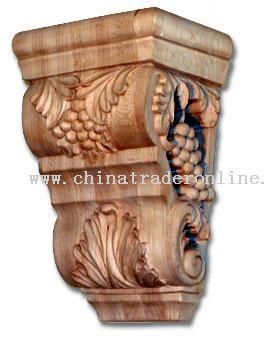 Wood Corbel, Wood Table Legs, Bun Foot, Island Turnings from China