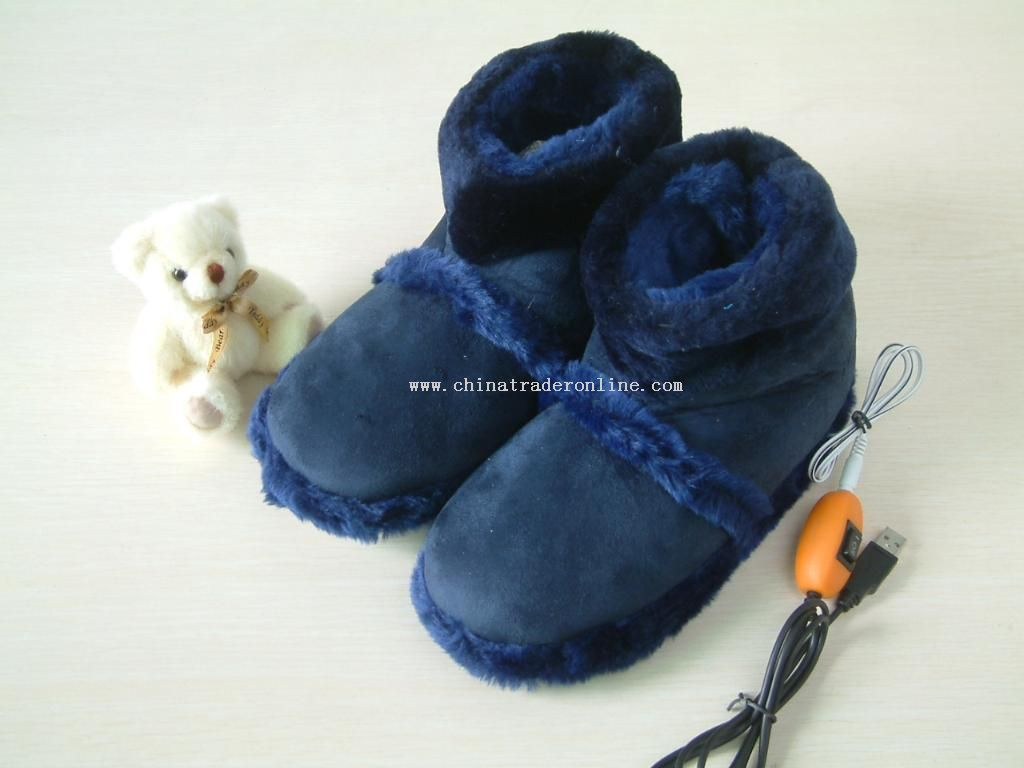 usb warm shoes from China