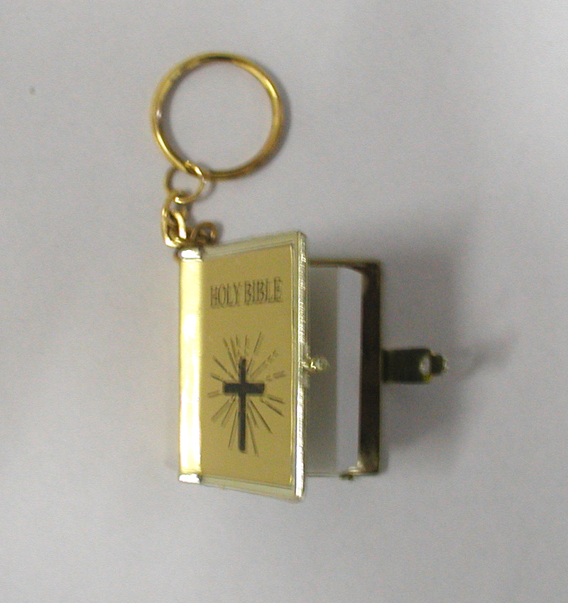 BIBLE KEY-CHAIN