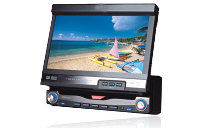 7 inch fully motorized touch screen TV