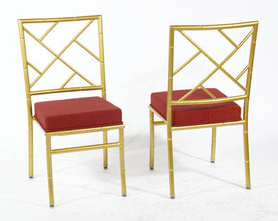 aluminum stack chairs